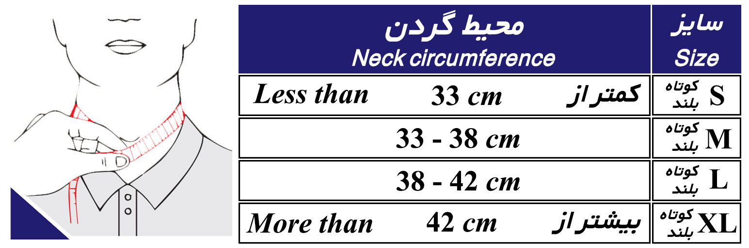 گردنبند-ثابت سازی گردن